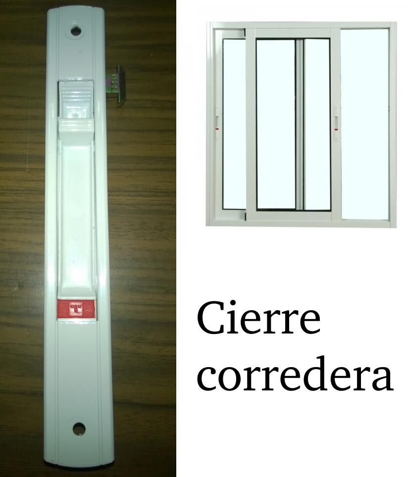 Cierres para ventanas de aluminio correderas sharemedoc - Cierre puerta corredera ...