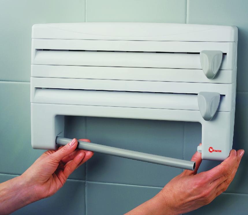 Portarrollos de cocina para papel aluminio film for Portarrollos de cocina
